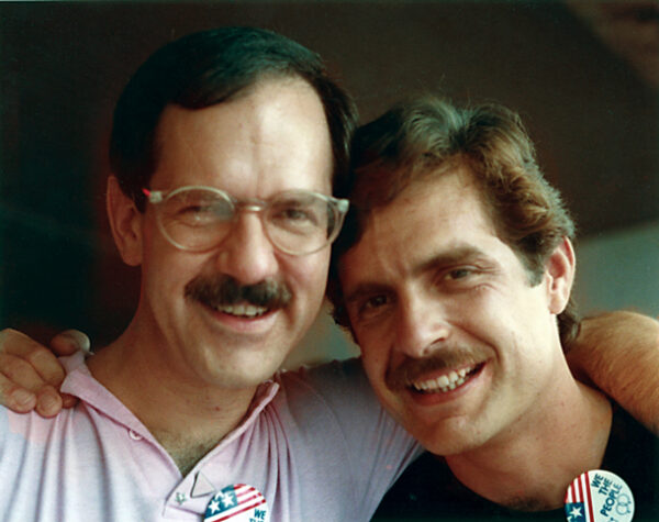 Clint Willour and Husband Reid Mitchell