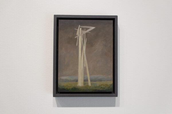 Glenn Heim, Untitled, 2012, oil on wood panel