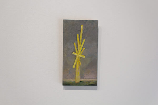 Glenn Heim, Untitled, 2013, oil on wood