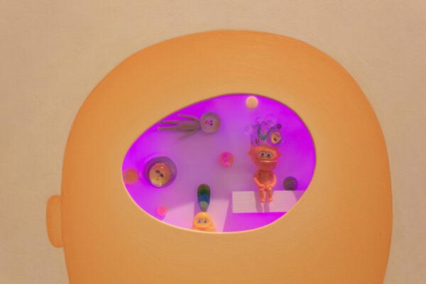 Karen Woodward, Meditations (Orange Dreamer)