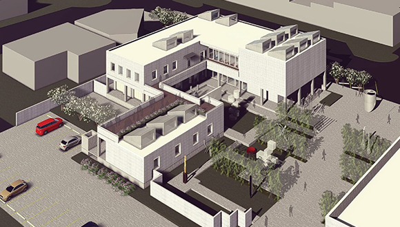 Rockport Center for the Arts concept drawing for new building