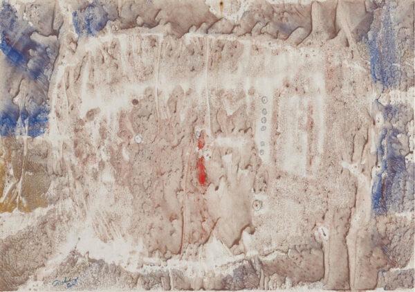 monoprint by artist Mark Tobey