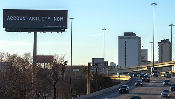 Accountability Billboard Houston