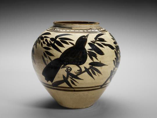 Chinese Jar with Birds from the Museum of Fine Arts Houston