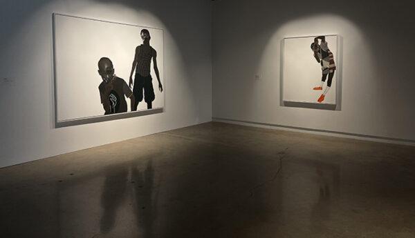 "Deborah Roberts ""I'm"" installation view"