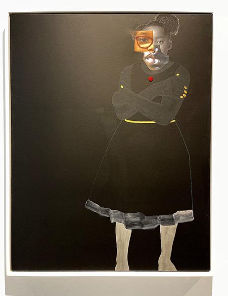 """Deborah Roberts-""""Portraits, when they look back."""""""