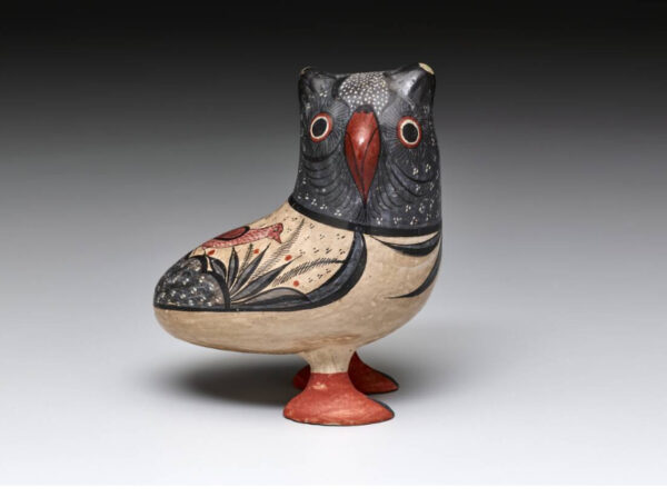 Owl figurine at the Dallas Museum of Art