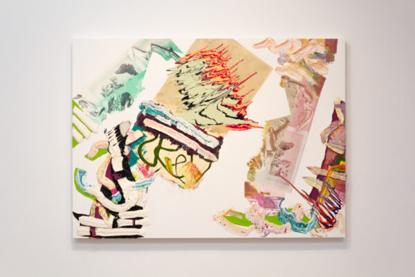 Pia Fries: picklock manual, on view at Talley Dunn Gallery in Dallas