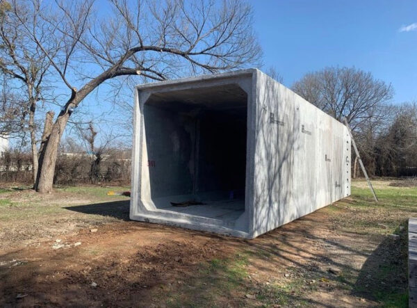 art space Co Lab Projects Concrete structure in Austin, Texas