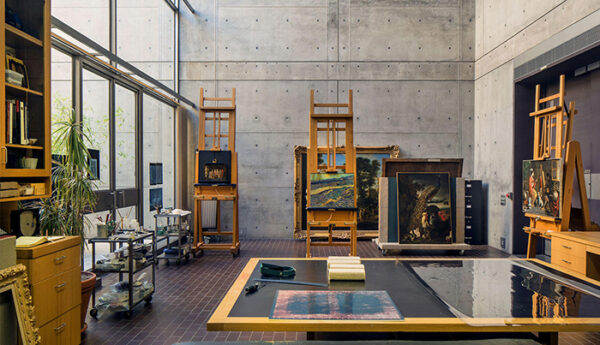 conservation at the Kimbell Art Museum