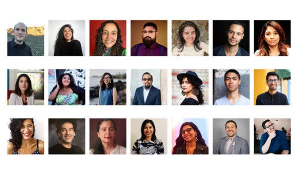 2021 NALAC Advocacy Fellows group photograph