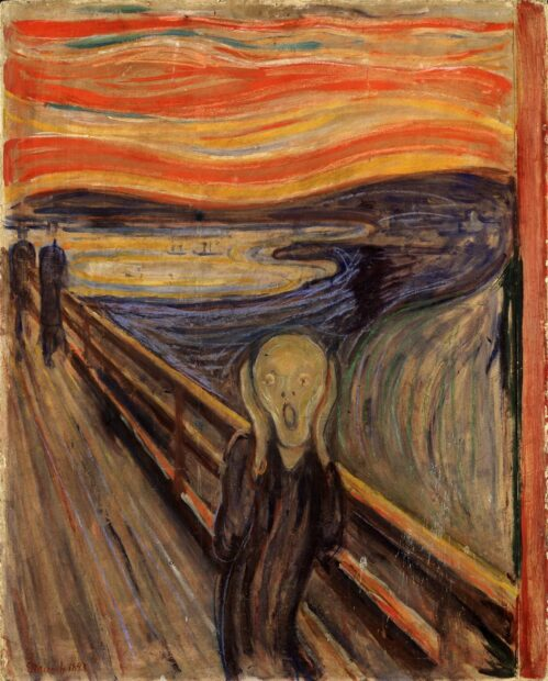 """The Scream,"" Edvard Munch, 1893"