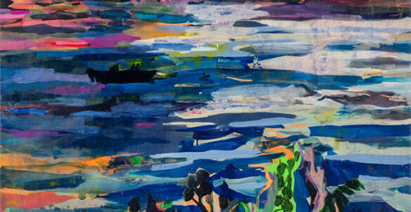 Allison Gildersleeve- Swiftly Flow the Days at Valley House Gallery in Dallas May 1 2021