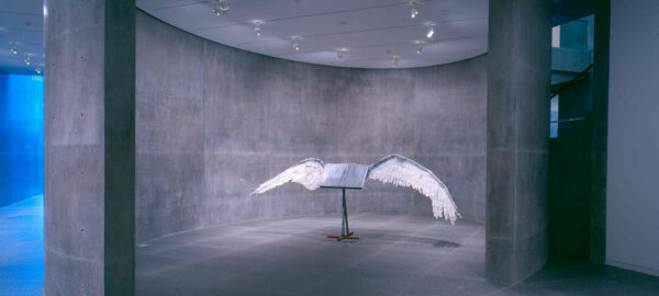 Anselm Kiefer book with wings fort worth modern