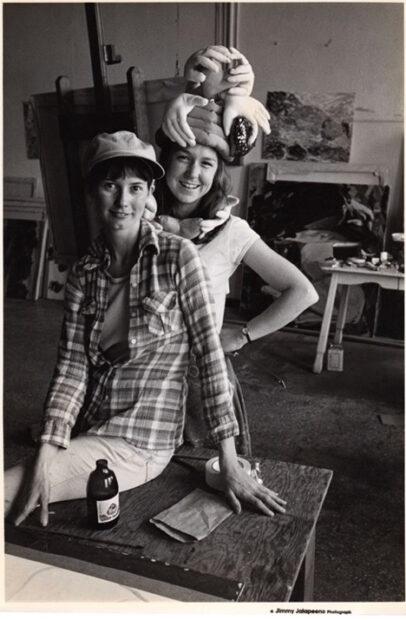 Carol Ivey (front) and Melissa Miller