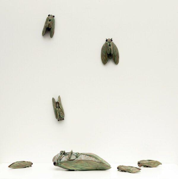 sculptures by artist Celia Eberle