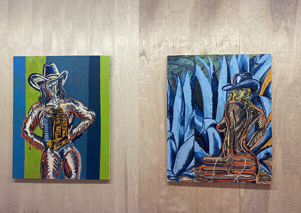 Alex Becerra, Half Gallery (New