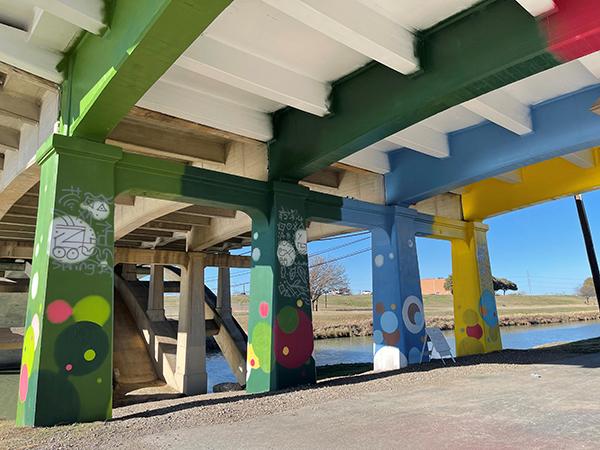 Henderson Street Bridge Murals
