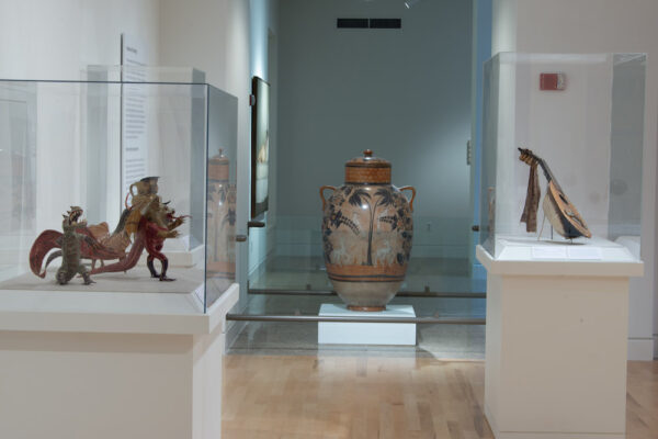 Installation view of Latin American Popular Art Gallery at San Antonio Museum of Art, 2020. All photos courtesy SAMA