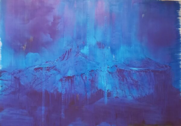 "Lorna Simpson, ""Blue Dark"" (2018)"