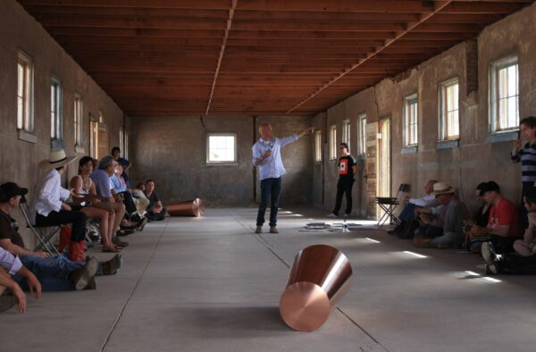 Rob Weiner from the Chinati Foundation in Marfa, Texas