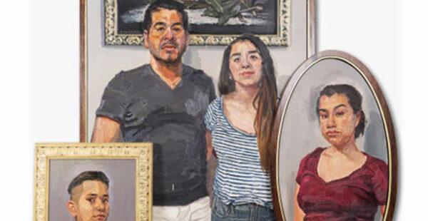 Sedrick Huckaby at the Blanton Museum of Art in Austin May 29 2021