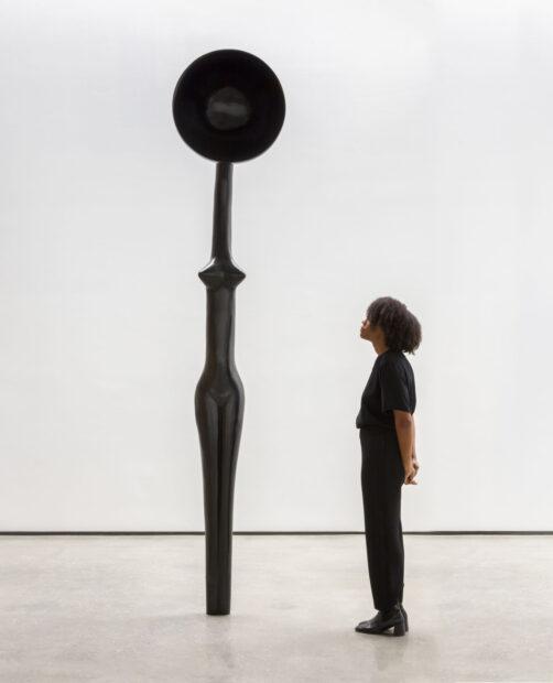 "Simone Leigh's sculpture ""Sentinel IV."""