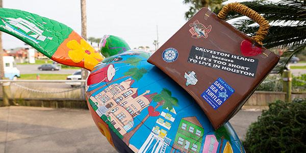 "Galveston Island's ""Turtles About Town."""