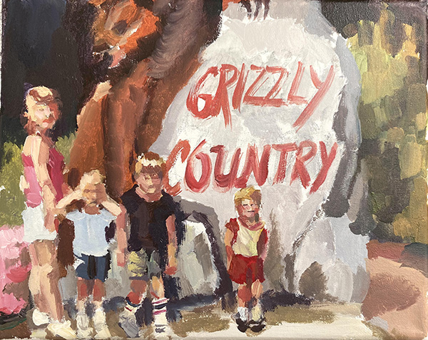 Grizzly Country, by Hannan Dean