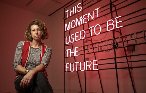 Alicia Eggert, 2021 Moss:Chumley award winner