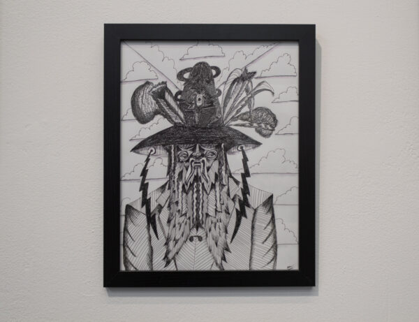 Andy Don Emmons: Stay Back Six Feet Please on view at Plush Gallery