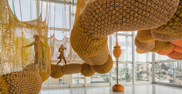 Ernesto Neto- SunForceOceanLife at the Museum of Fine Arts, Houston in Houston May 30 2021