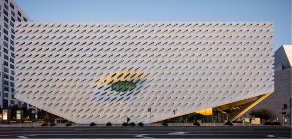 The Broad art museum in Los Angeles