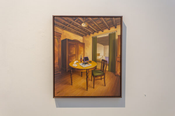 Tom Pribyl on view at Craighead Green Gallery