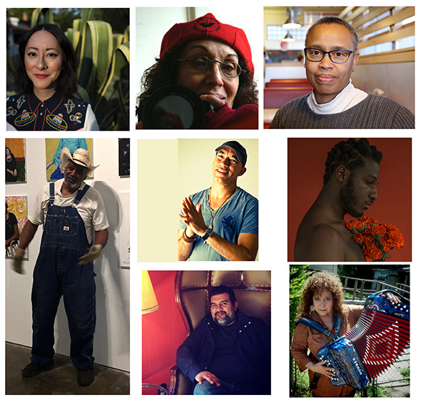 Texas artists and laureates, 2020-2021