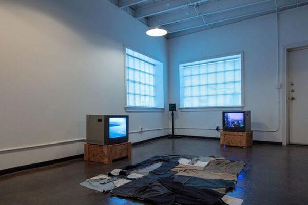 Francis Almendarez, The Potential Wanderer, video installation, February 2018