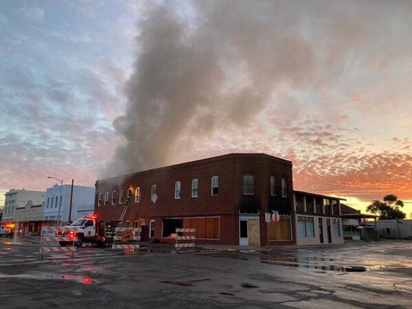 Judd Architecture Office Building Fire, June 4, 2021