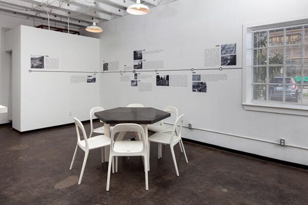 Noah Simblist Palestine, Texas, parafictional timeline and two related dialogues, April 2015