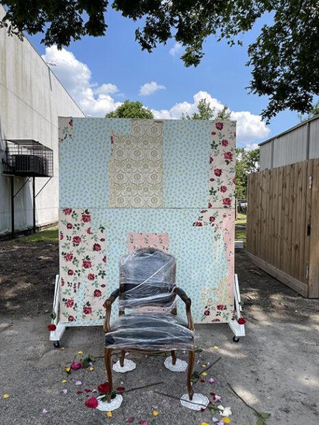Photo Booth at Juneteenth celebration, 2021 at Eldorado Ballroom, Third Ward, Houston