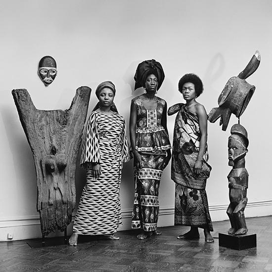 Kwame Brathwaite, Grandassa Models at the Merton Simpson Gallery, New York, ca. 1967