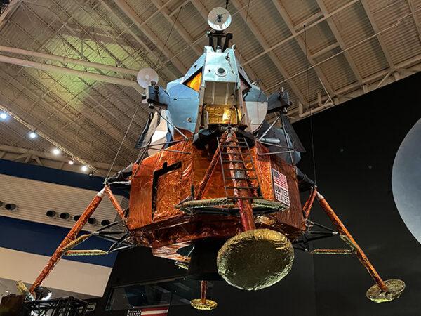 Lunar Lander, Space Center, Houston.