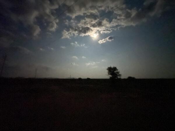 Night transformed to day, Marfa Lights Observatory, Marfa, Texas
