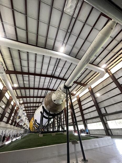 Saturn V Heavy Lift Vehicle, Johnson Space Center, Houston