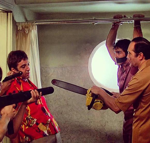 Tony Montana, a.k.a. Scarface as played by Al Pacino