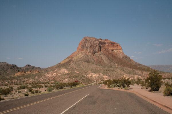 Unidentified peak, Big Bend National Park