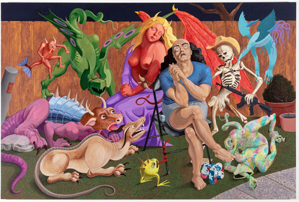 """""""The Allegory of Weed Gummy and Alcohol Induced Anxiety"""", by Francisco Moreno"""