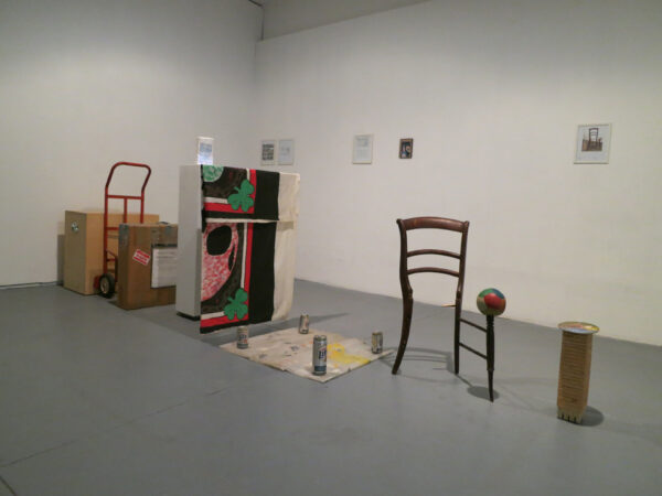 Ludwig Schwarz retrospective at Oliver Francis Gallery, 2014