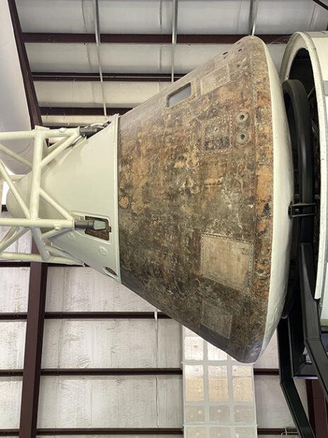 Crew Capsule, Saturn V, Johnson Space Center, Houston