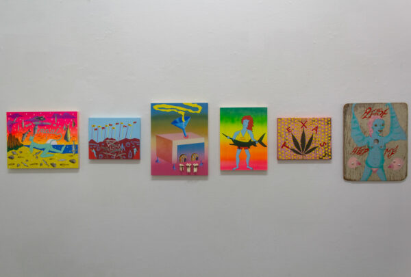 """Alexander Revier, """"Creatures, Thoughts, and Travel"""", on view at Ro2 Gallery"""