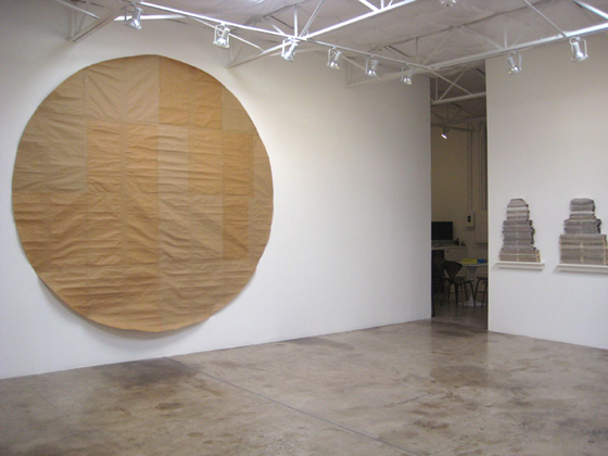 Annette Lawrence at Dunn and Brown (installation view)